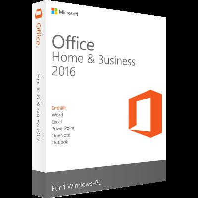 Microsoft Office 2016 Home & Business | für Windows