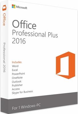 Microsoft Office 2016 Professional Plus | für Windows