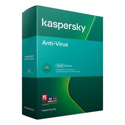 Kaspersky Anti-Virus 2021 / 1 Jahr 1 Gerät