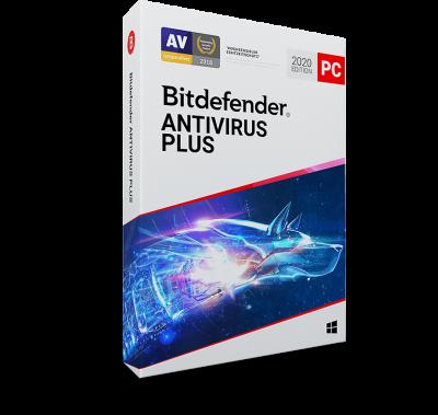 Bitdefender Antivirus Plus 2021 / 1 Jahr 1 Gerät