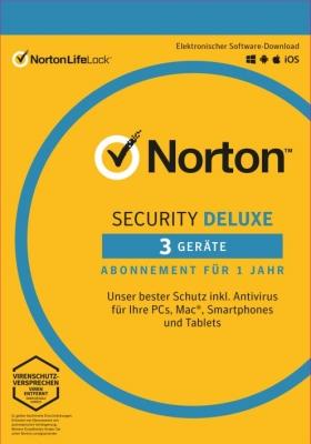Norton Security Deluxe / 1 Jahr 3 Geräte