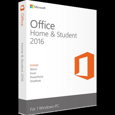 Microsoft Office 2016 Home & Student | für Windows